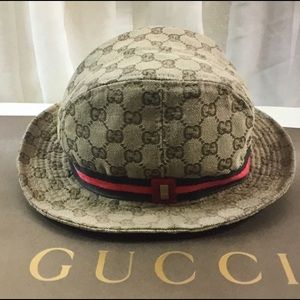 Gucci Accessories - Gucci GG monogrammed bucket hat. d8a2045ea56c